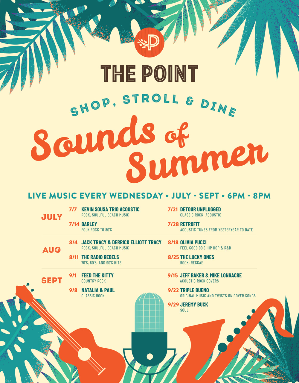 The Point presents a free summer concert series in El Segundo